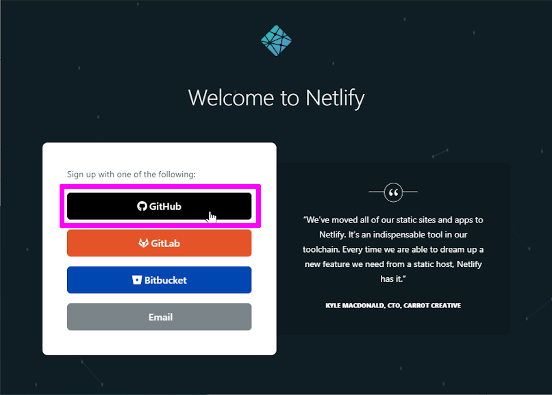 Welcome to Netlify