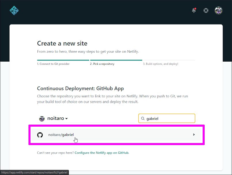 Continuous Deployment GitHub App